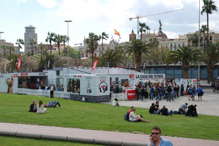 Street Marketing, experiencia de marca