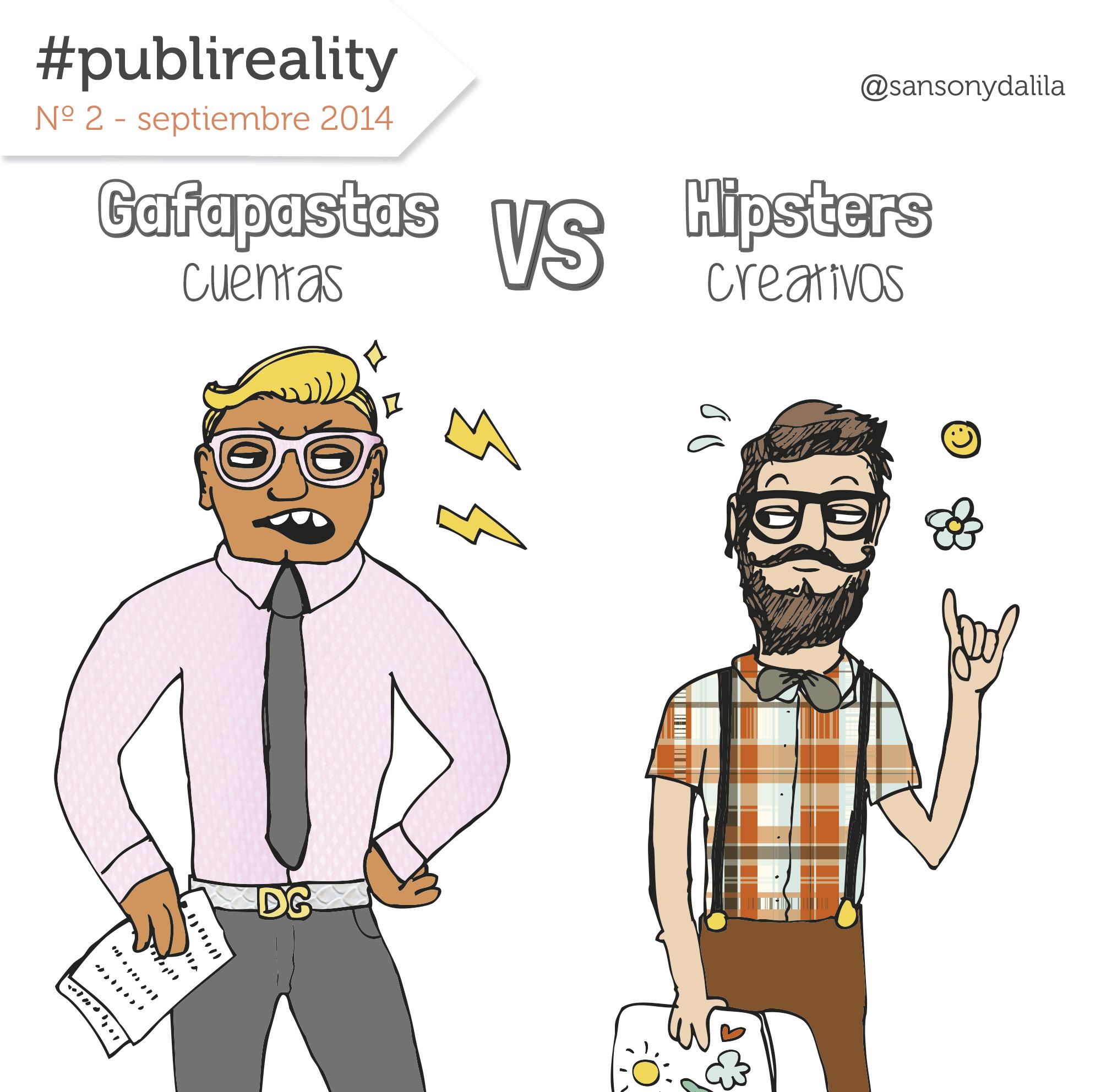 Publireality #2: los Gafapasta contra los Hipster