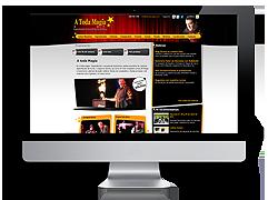 Página Web A Toda Magia