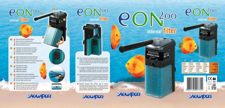 Diseño de packaging y naming eON