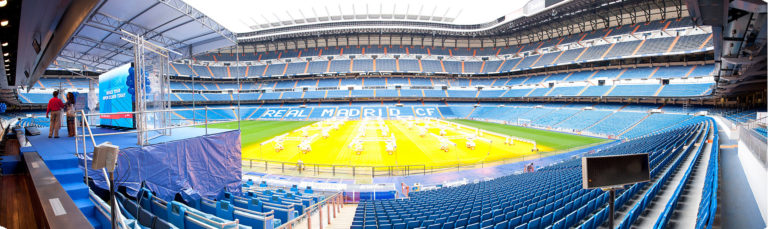 evento corporativo palco bernabeu
