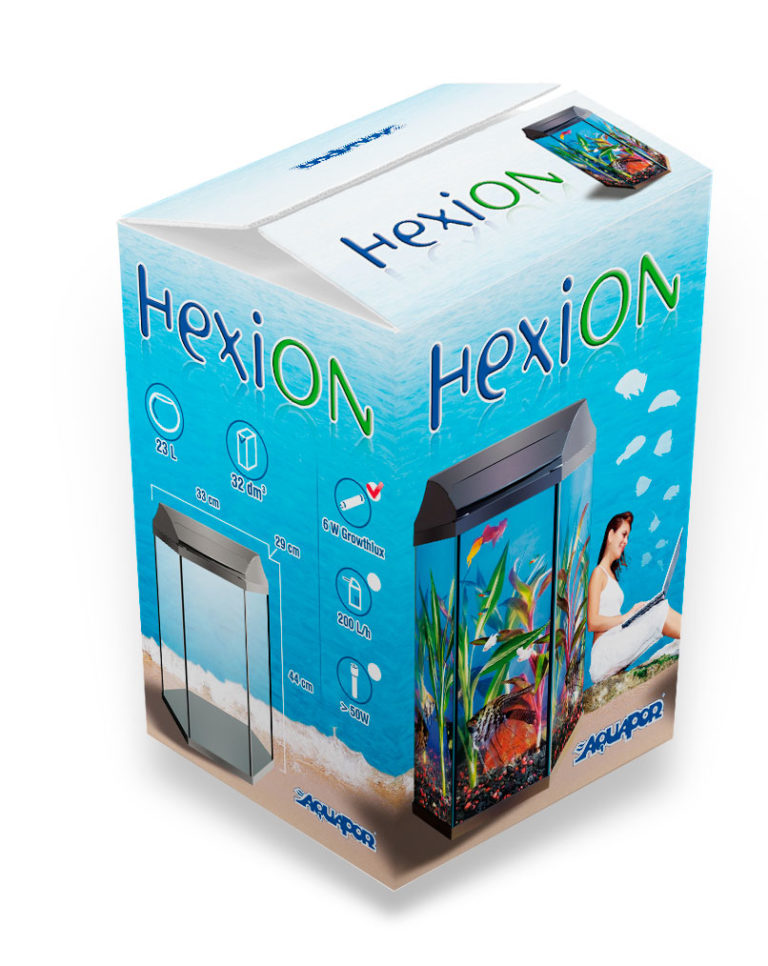Diseño de packaging Hexion