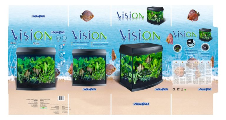 Diseño de packaging visiON