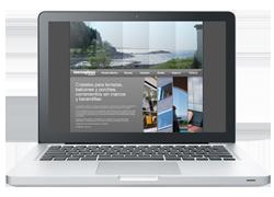 Tecnoglass página web