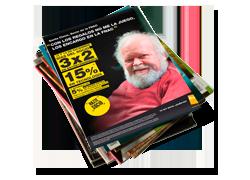 Campaña de publicidad: Santa Claus socio de Fnac